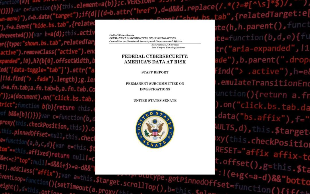 Federal Cybersecurity Report Exposes Vulnerabilities